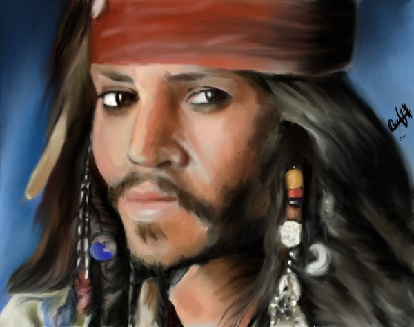 Johnny Depp by melogb07